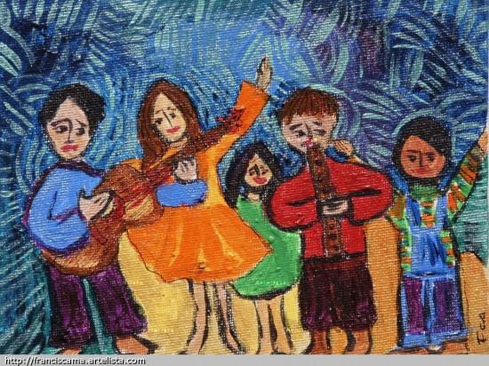 niños musica